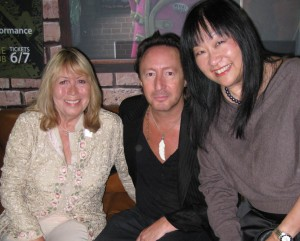 Cynthia & Julian Lennon & May