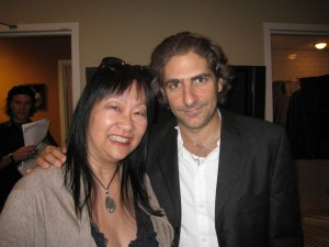 May & Michael Imperioli (actor, The Sopranos)