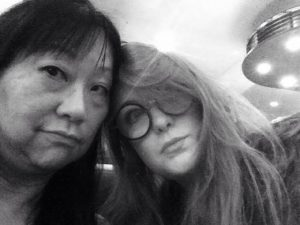 Billie and I in the Groucho
