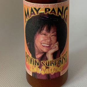 May Pang's hot sauce